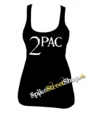 2 PAC - Logo - Ladies Vest Top
