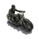 GOTHIC COLLECTION - Hell On The Highway Biker Skull Hells Angel - motorkár