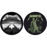 METALLICA - Master of Puppets / and Justice for All - slipmat sada