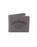 JACK DANIELS - Debossed Logo Leather Bifold Wallet - peňaženka