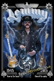 LEMMY - Commemorative - plagát