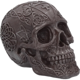 GOTHIC COLLECTION - Celtic Iron 16cm - lebka