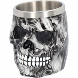 GOTHIC COLLECTION - Soul Skull Tankard 16cm - krígel