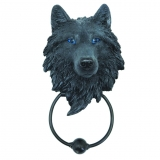 GOTHIC COLLECTION - Dark Guardian Wolf 22.8cm - klopadlo na dvere