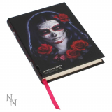 GOTHIC COLLECTION - Embossed Journal Sugar Skull (JR) 17cm - poznámková knižka