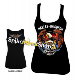 HARLEY DAVIDSON - Skull & Eagle - Ladies Vest Top