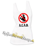 A.C.A.B. - Pictogram - Ladies Vest Top - biele
