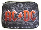 Púzdro na notebook AC/DC - Black Ice - Red Logo