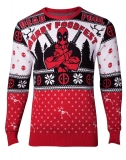 MARVEL - Deadpool Knitted Christmas Sweater - pánsky sveter