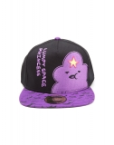 ADVENTURE TIME - Lumpy Space Princess Snapback with Printed Bill - šiltovka
