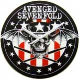 AVENGED SEVENFOLD - Watch Skull - odznak