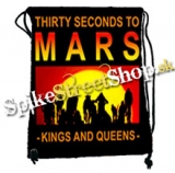 Chrbtový vak 30 SECONDS TO MARS - Kings & Queens