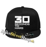 "30 SECONDS TO MARS - Big Logo - čierna šiltovka model ""Snapback"""