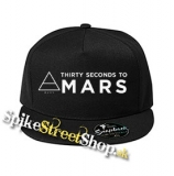 "30 SECONDS TO MARS - Big Logo w Symbol - čierna šiltovka model ""Snapback"""