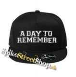 "A DAY TO REMEMBER - Logo - čierna šiltovka model ""Snapback"""