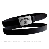 JACK DANIELS - Black Belt Metal Buckle - opasok