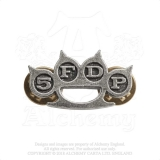FIVE FINGER DEATH PUNCH - Knuckle Duster - kovový odznak