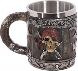 FANTASY COLLECTION - Novelty Pirate Themed Tankard - krígel