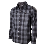 JACK DANIELS - Black/Grey checks Shirt - košeľa