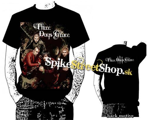 f4748cd0cee4 THREE DAYS GRACE - Band - čierne pánske tričko (Výpredaj)