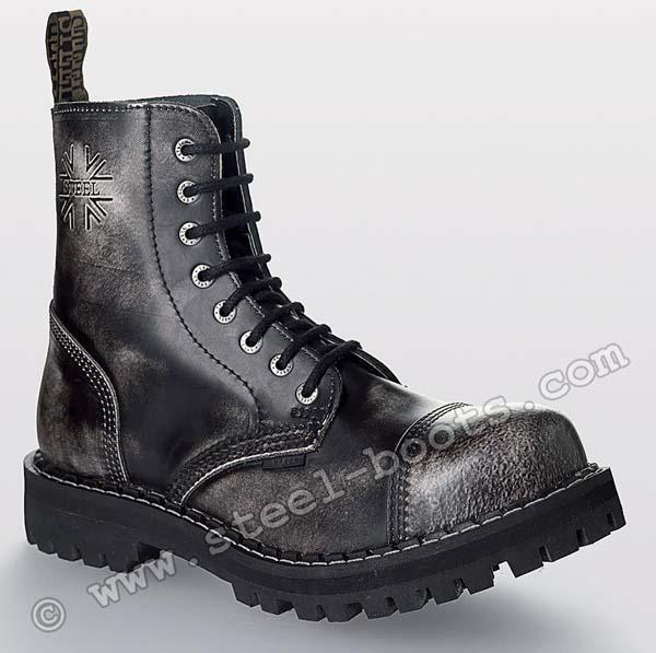 8 - dierkové topánky STEEL - BIELE a59dc19957