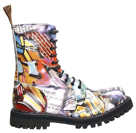 10 - dierkové topánky STEEL - GRAFIT 7ef6a9217a0