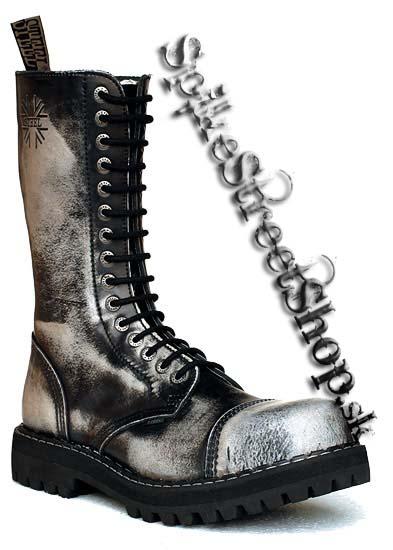 15 - dierkové topánky STEEL - BIELE dcf6fe029a