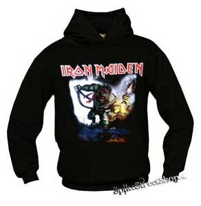 IRON MAIDEN - Eddie Soldier - čierna pánska mikina b7b6da25409