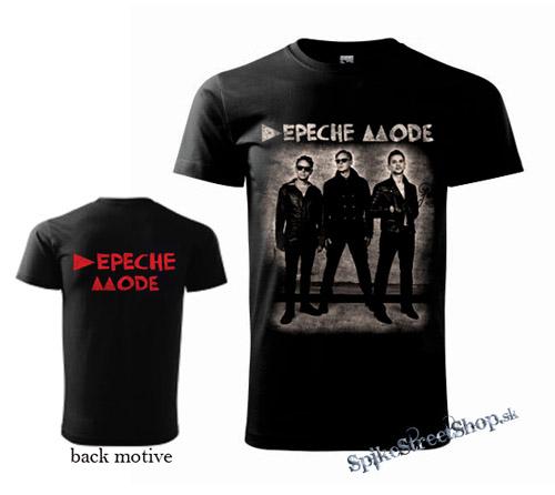 00c9c0cbe4 Čierne pánske tričko DEPECHE MODE v SpikeStreetShop.sk
