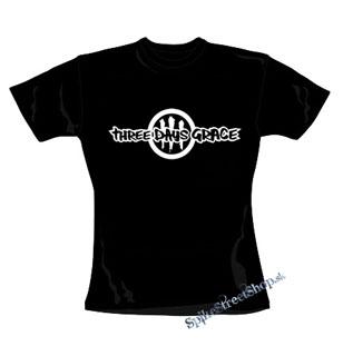 00d019fe4db0 Čierne pánske tričko THREE DAYS GRACE v SpikeStreetShop.sk