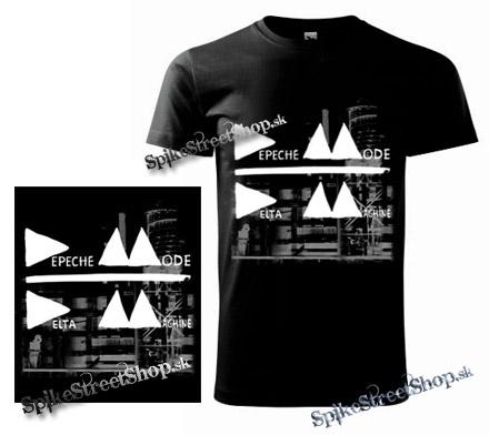 0d69f3d859 DEPECHE MODE - Delta Machine - Grey Cover - čierne pánske tričko
