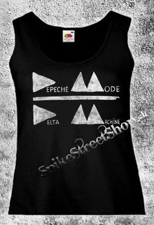Čierne dámske tielko DEPECHE MODE v SpikeStreetShop.sk 3fede755afd