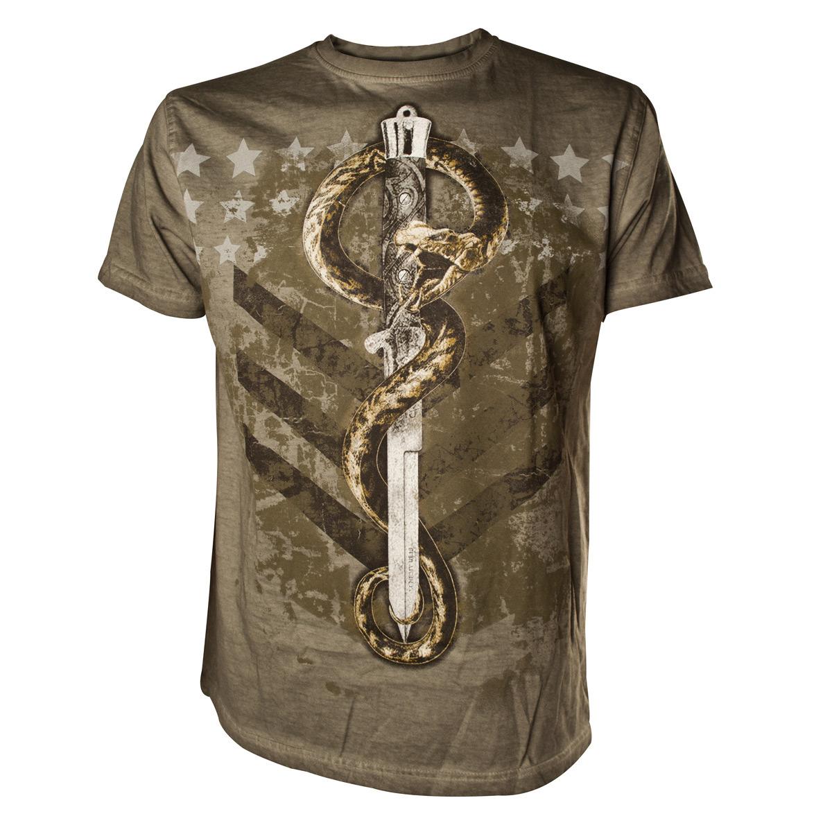 ALCHEMY - Venom Ranger Army Green T-Shirt - zelené pánske tričko 298306a15c4