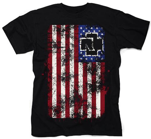 74399067b864 Čierne pánske tričko RAMMSTEIN v SpikeStreetShop.sk