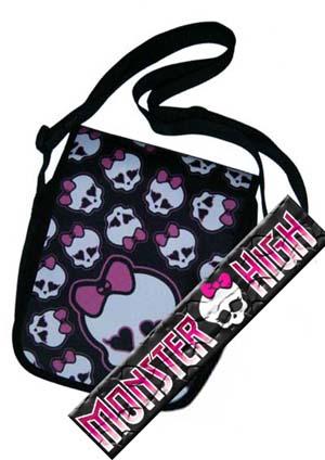 MONSTER HIGH - Monster Skulls - dievčenská taška - menšia