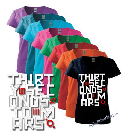 31bd720830b4 Farebné dámske tričko 30 SECONDS TO MARS v SpikeStreetShope