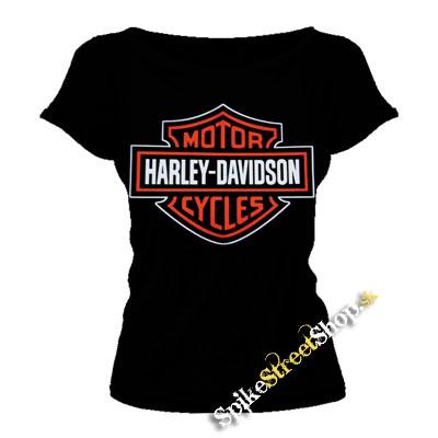 0ccd24273f Čierne dámske tričko HARLEY DAVIDSON v SpikeStreetShop.sk