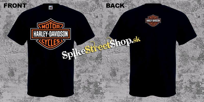 170cce3ada Čierne pánske tričko HARLEY DAVIDSON v SpikeStreetShop.sk