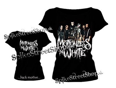 3b982f195001 Čierne dámske tričko MOTIONLESS IN WHITE v SpikeStreetShop.sk
