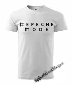 d3335fe5c0 Biele pánske tričko DEPECHE MODE v SpikeStreetShop.sk