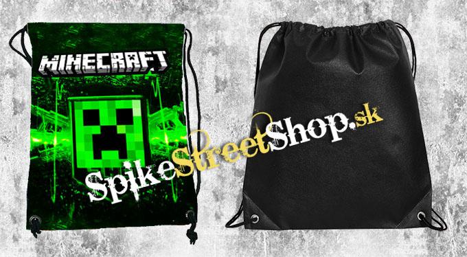 2c88b7713799 Školské vrecko MINECRAFT v SpikeStreetShop.sk