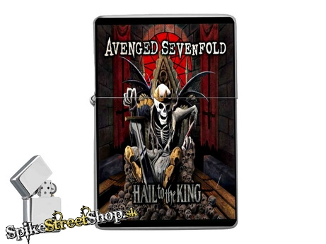 AVENGED SEVENFOLD - Hail To The King - zapaľovač