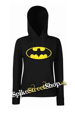 BATMAN - Yellow Logo - čierna dámska mikina 9d4151ec6c