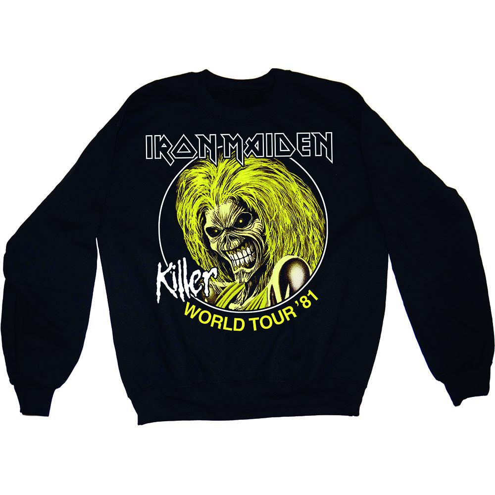 Pánska mikina IRON MAIDEN - Killers 81 v SpikeStreetShop.sk 42eb47745c6