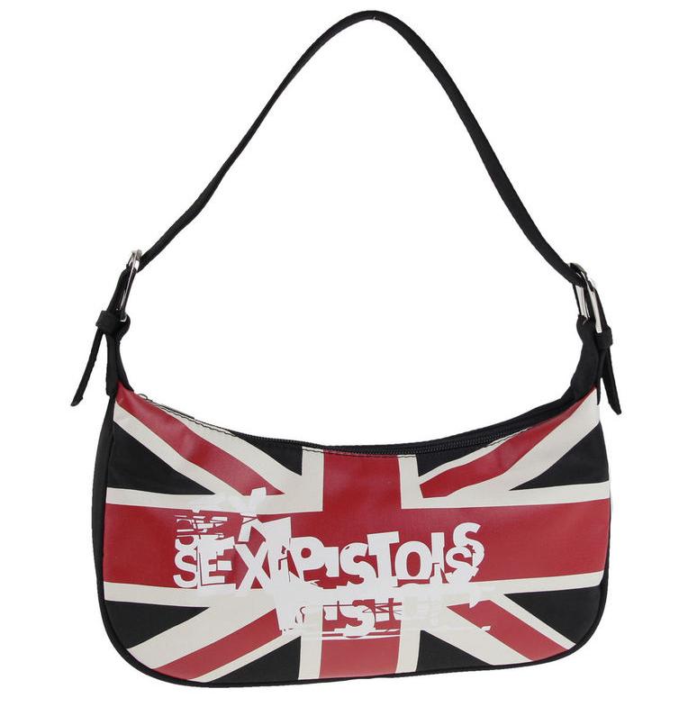 f4329b52dd Dámska kabelka SEX PISTOLS - British Flag Ladies Bag (Výpredaj)