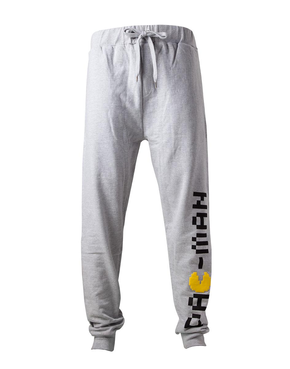 1627449ccab4 PAC-MAN - Classic Logo Lounge Pants - sivé pánske nohavice