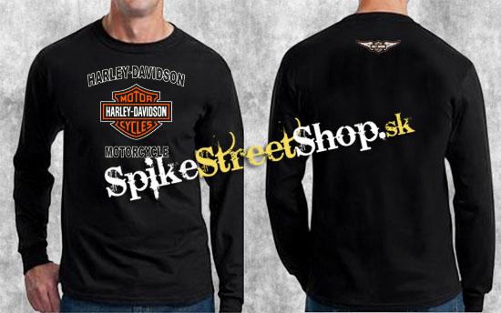 43bac7b6cd HARLEY DAVIDSON - Motorcycle - čierne pánske tričko s dlhými rukávmi