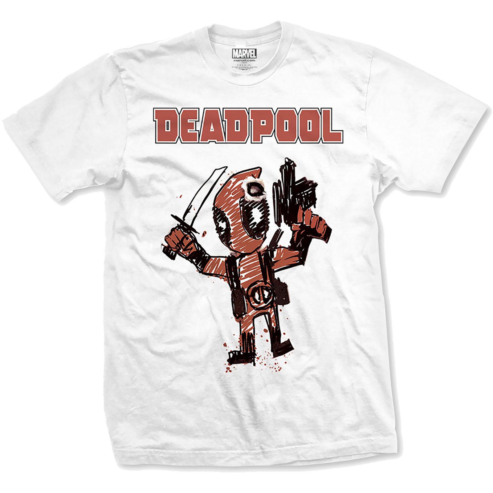 e04ee39817c6 Pánske tričko MARVEL COMICS - Deadpool Cartoon Bu v SpikeStreetShop.sk