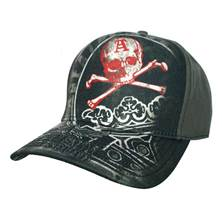 Iltovka Alchemy Death Skull And Crown Adjustable Cap