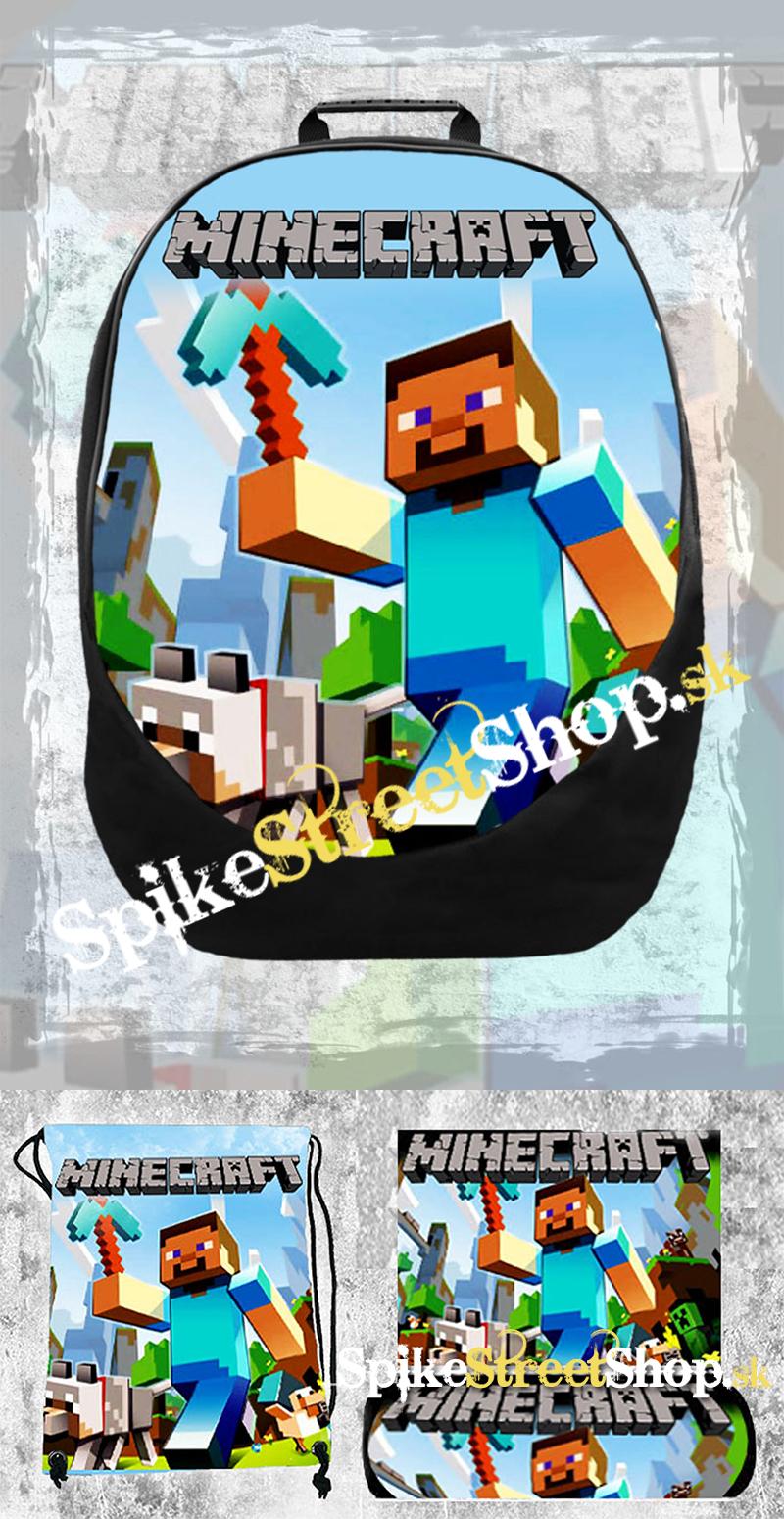 a556ecd01055 Školská sada s motívom MINECRAFT v SpikeStreetShop.sk